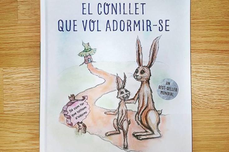 El conillet que vol adormirse, Carl-Johan Forssén Ehrlin, Irina Maunumen, El conejito que quiere dormirse, libro infantil