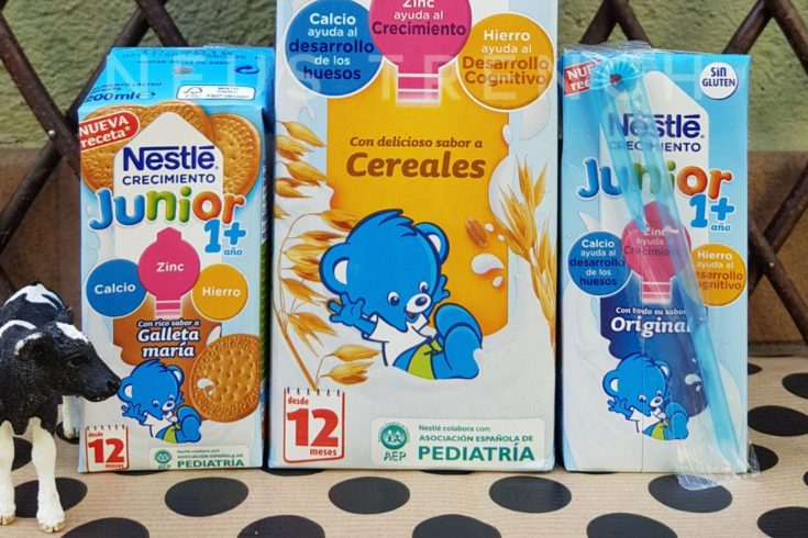 Nestlé, testamus, nestle crecimiento, leche infantil, leche con cereales, leche con galletas,leche de vaca