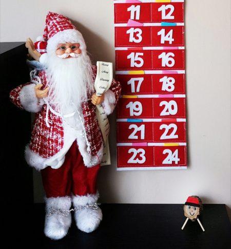Papa Noel calendario adviento Tió