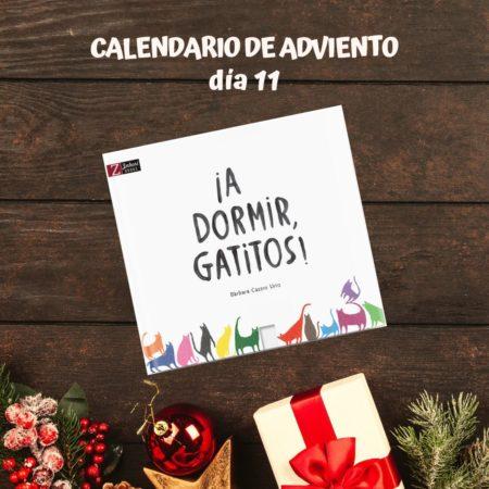 A dormir Gatitos Zahori books calendario Adviento literario
